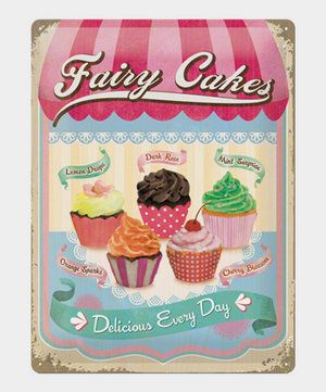 fairy cakes delicious every day