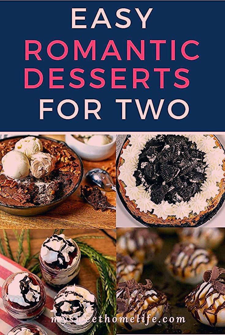 Photo of Easy romantic desserts for two