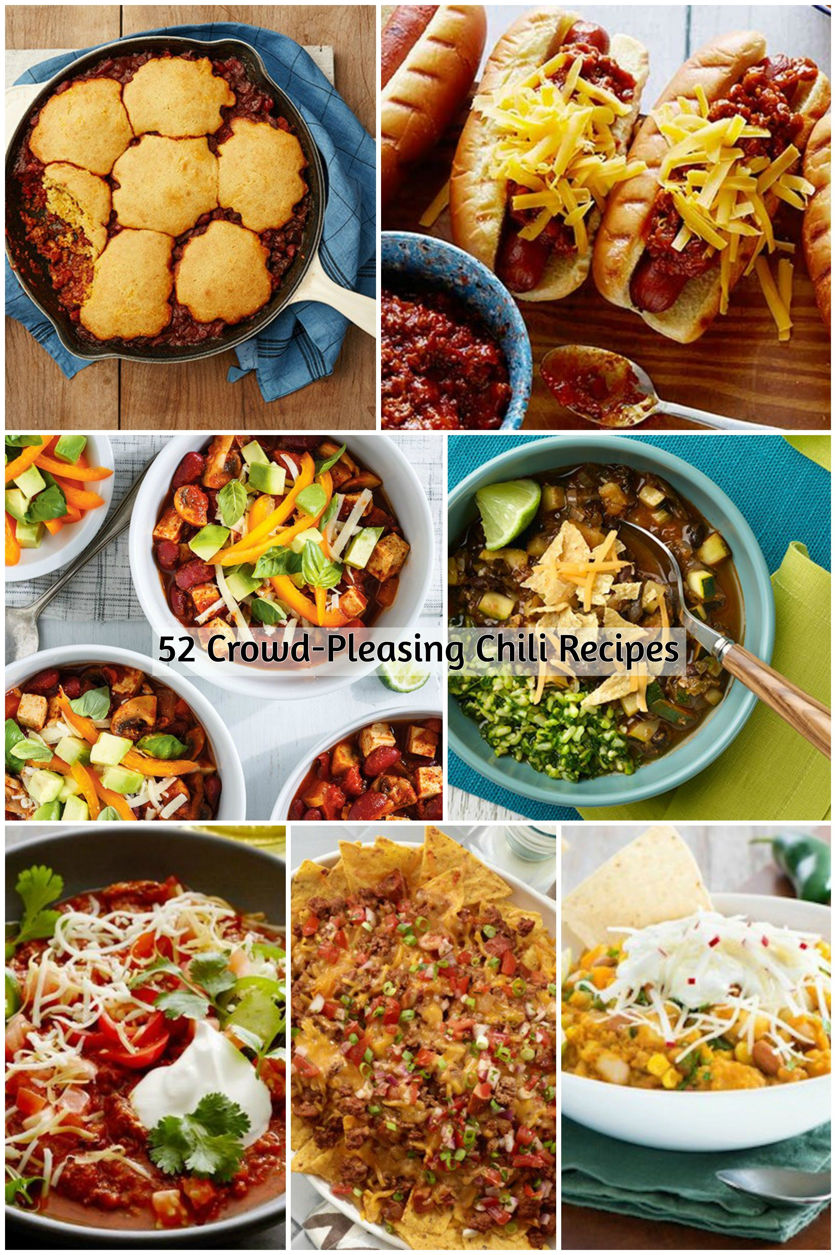 55 Crowd Pleasing Chili Recipes Food Network Canada Food Network Recipes Best Chili Recipe Chili Recipes