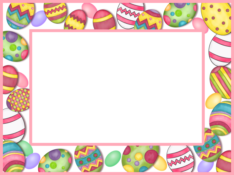 Easter Frame printable | pastele | Pinterest | Easter