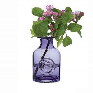 Dartington Amethyst Mini Flower Bottle Flower Bottle Flowers In Jars Dartington
