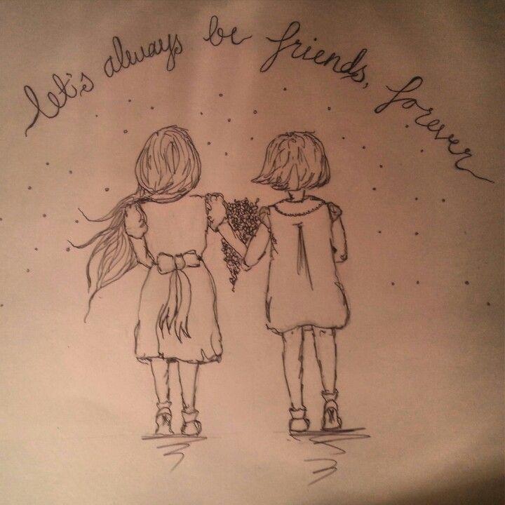 #friendsforever #ink #doodle #illustration #sketch