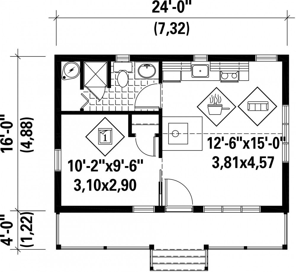 Plan Image Used When Printing Maison Pinterest Foyers Cabin