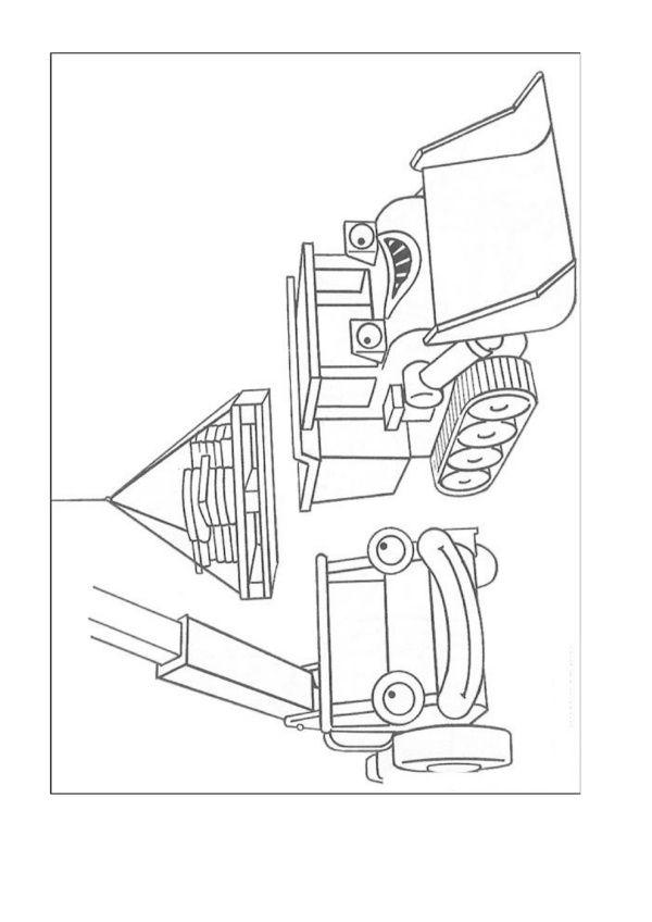 Dibujos para Colorear Bob el constructor 50 | Dibujos para colorear ...