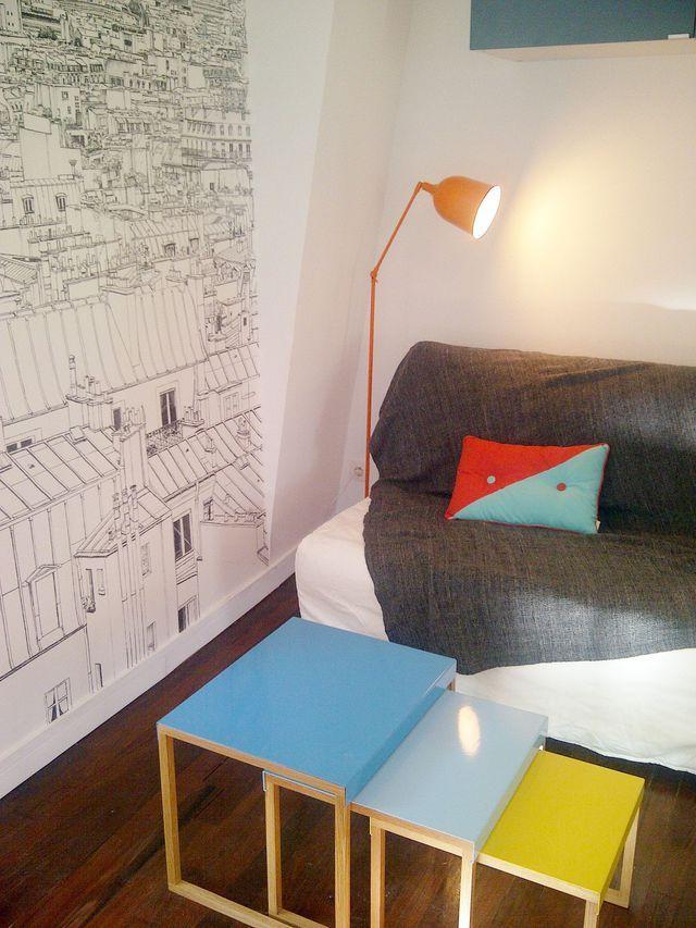 Gagner De La Place Dans Un Studio aménagement studio : astuces gain de place et idées déco   solution