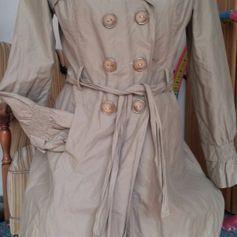 new product 1b8a5 f8959 Damen Trenchcoat Crash Mantel Vintage Gr.38 On Parle De Vous ...
