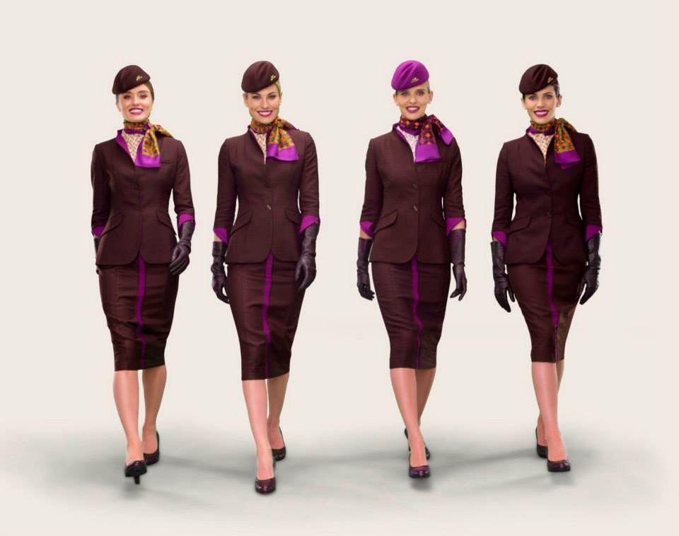 Image result for ETIHAD AIRWAYS uniform