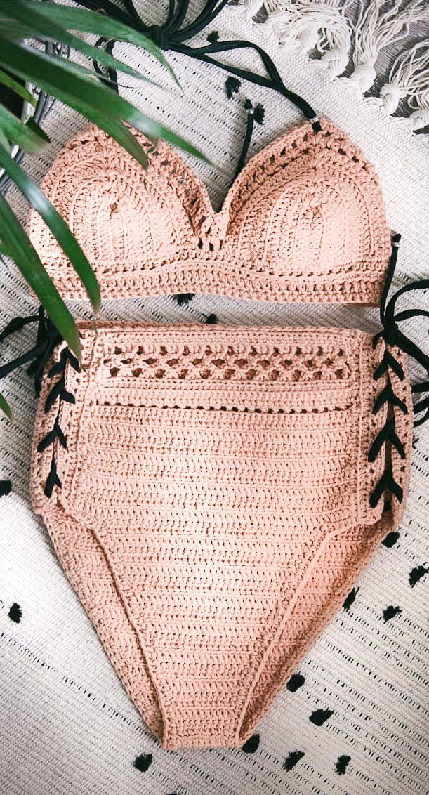 Beauty Crochet Bikini Design Ideas for This Summer! Part 4