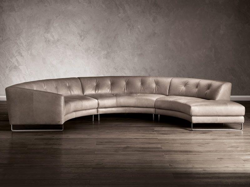 Natuzzi Circular Sectional Natootzi Sectionals Sofa