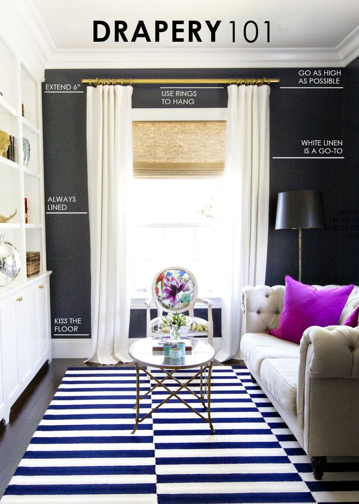 Drapery Ideas For Living Room. Ask Studio McGee  Drapery 101 Living Room mcgee and rooms