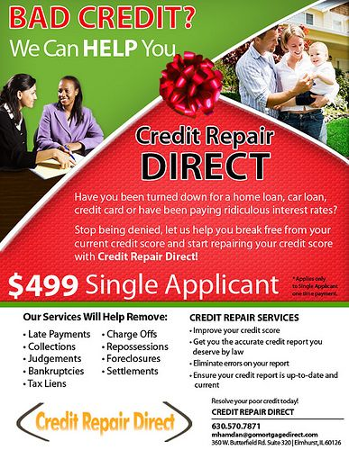 Credit Repair Flyer
