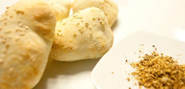Pita-Brot mit Sesam