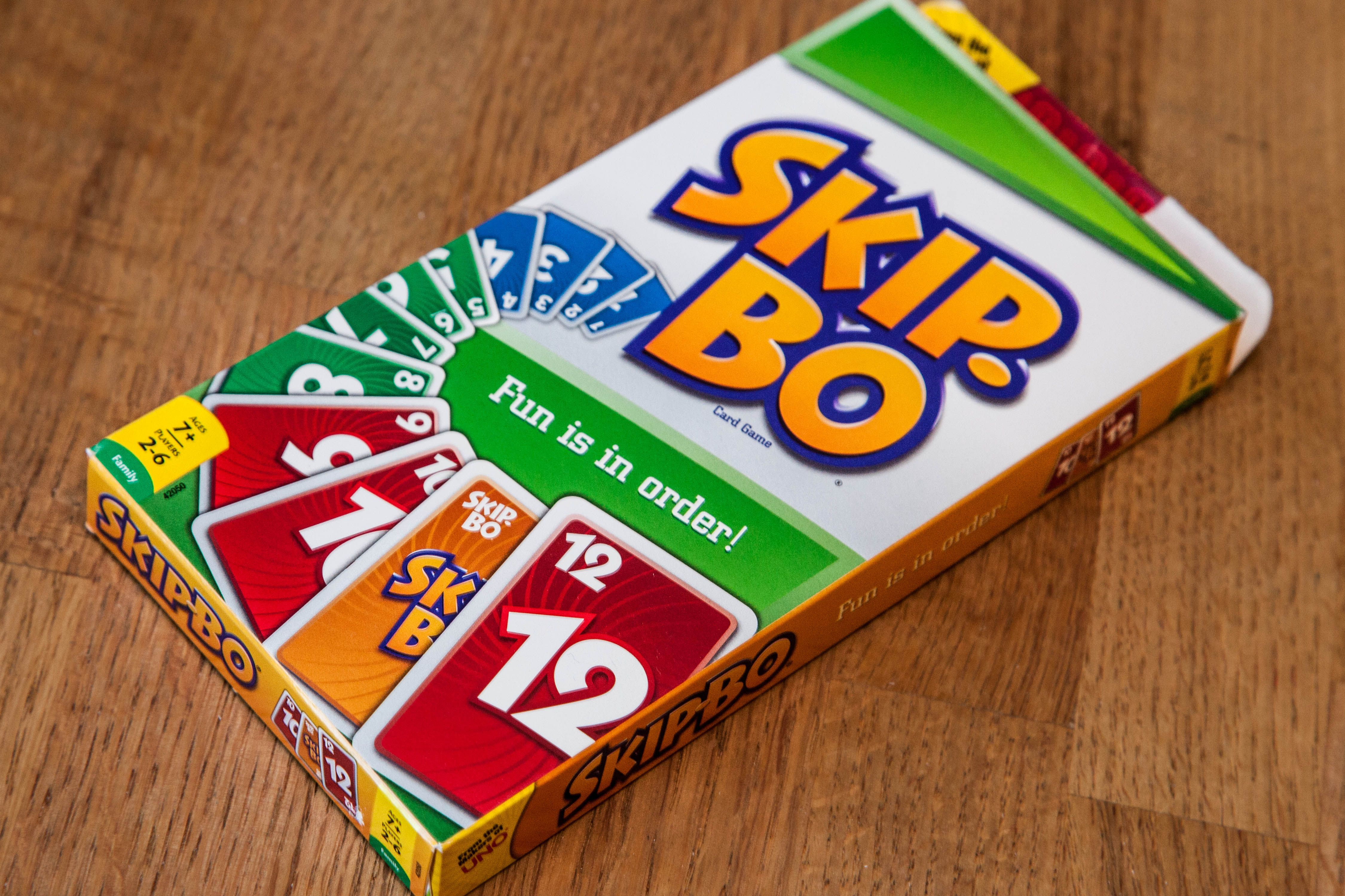 SkipBo Card Game Instructions Card games, Cards, Games