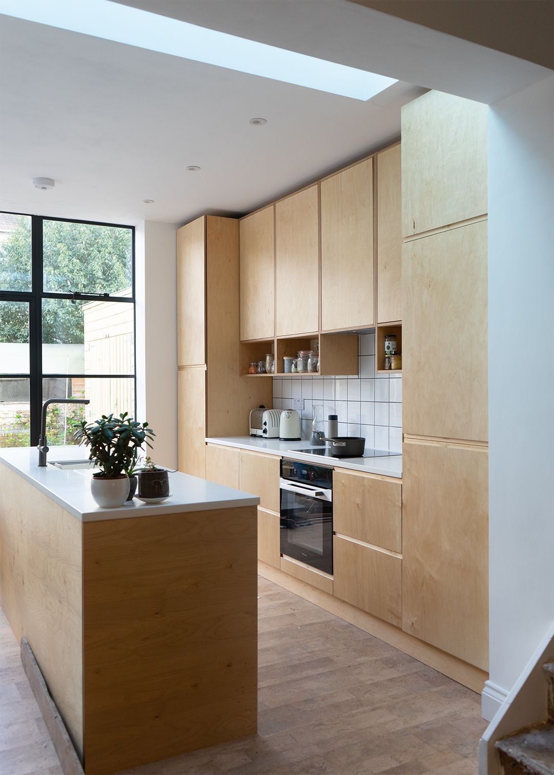 Birch plywood dreams. in 2020 Plywood kitchen, Birch