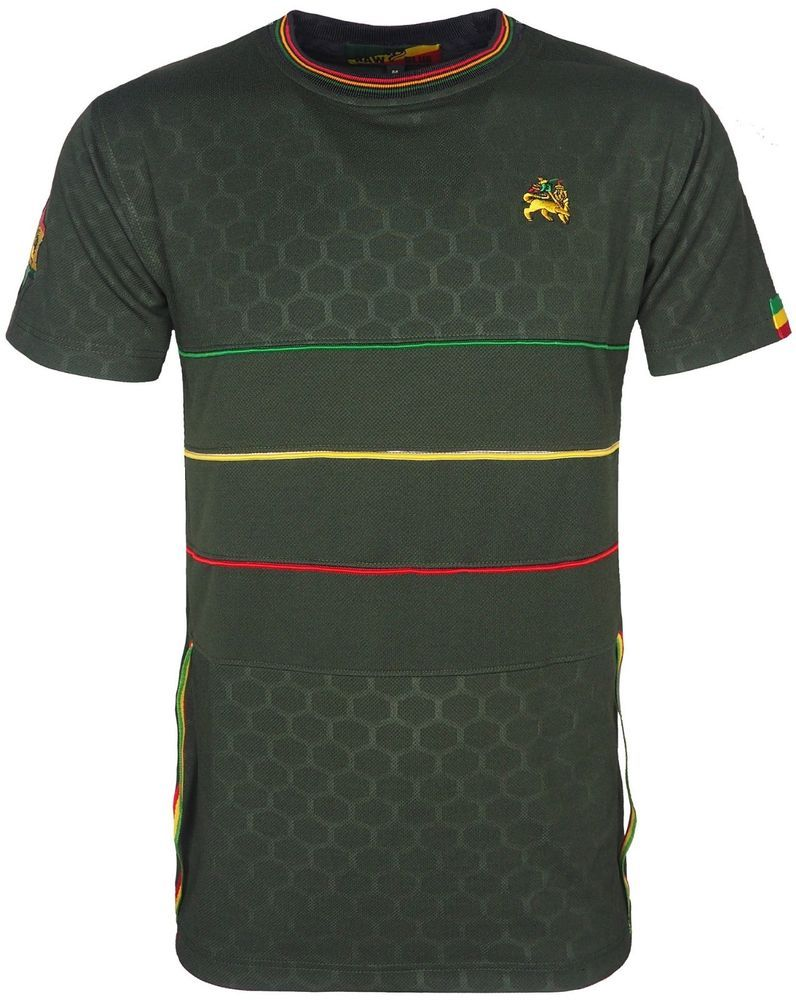 cce213b34d Lion Shirt Ideas - Lion T Shirts For Sales #lionshirts #lionttshirts #lion  Rasta T-Shirt Crew Neck Short Sleeve Red Gold Green Striped Lion of Judah  Logo o ...
