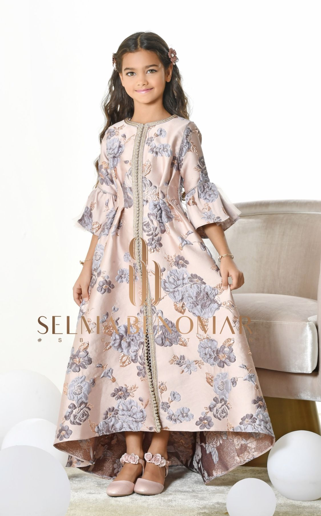 4822b3c65a1e New collection Ramadan 2018 by Selma Ben Omar Dress Anak