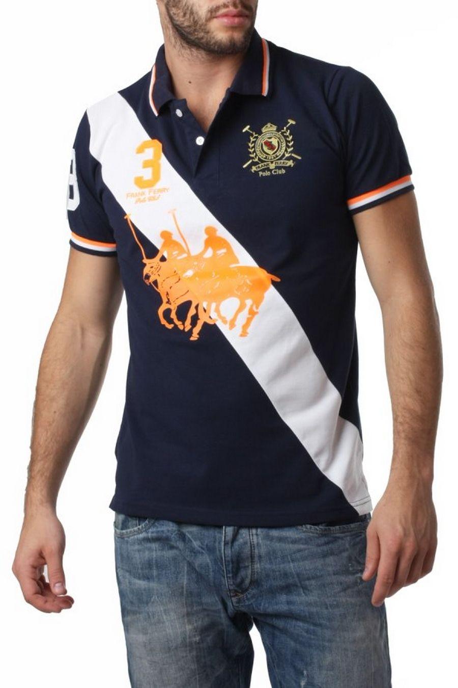 Ανδρικό polo T-Shirt Frank Ferry 264 b9feec1822a