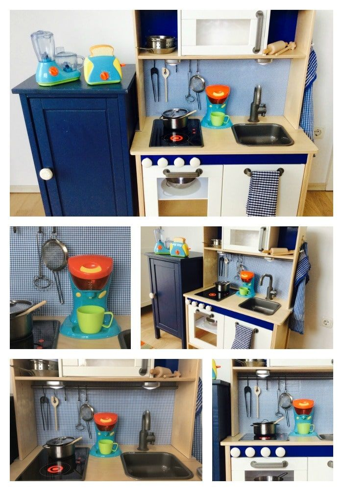 IKEA Hack Wir pimpen unsere Kinderküche Duktig + Zubehör