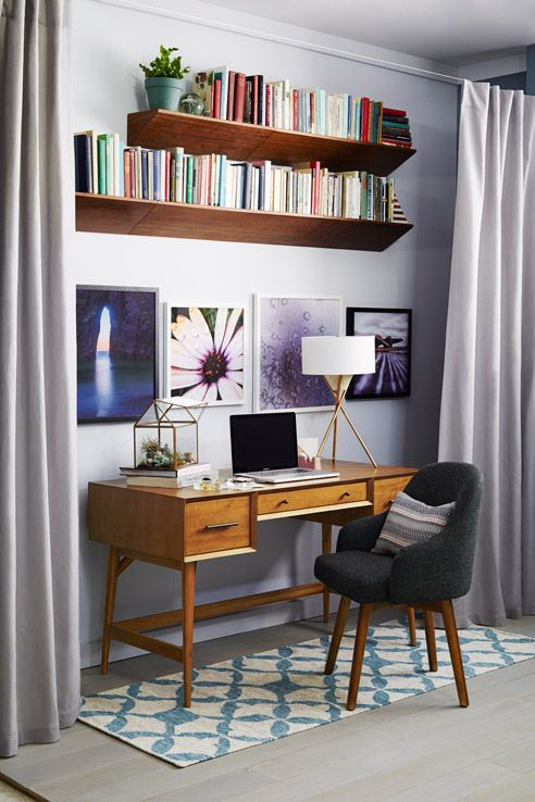 Small Living Room Office Ideas: The Secrets To Stylish Small Apartment Living