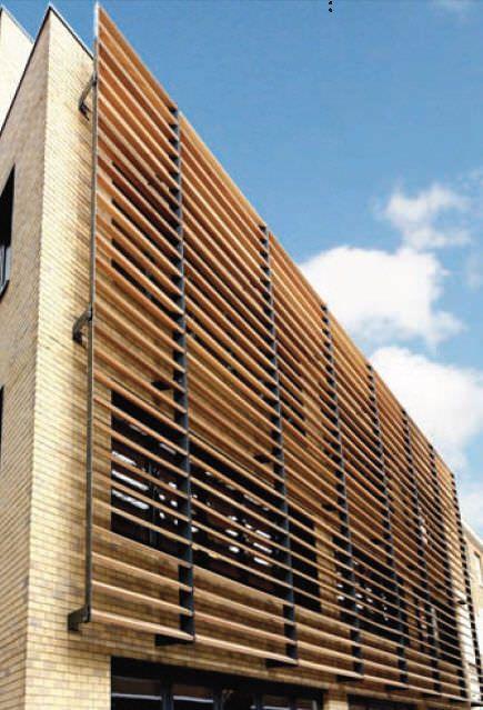 fachada ventilada de madera - Buscar con Google Sustentabilidad - fachada madera