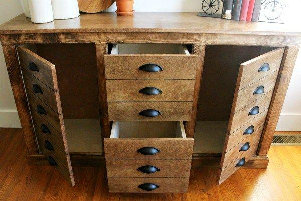 Best Diy Modern Farmhouse Faux Drawer Dresser Diy Furniture 640 x 480