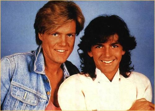 Modern Talking: Dieter Bohlen and Thomas Anders. | Thomas ...