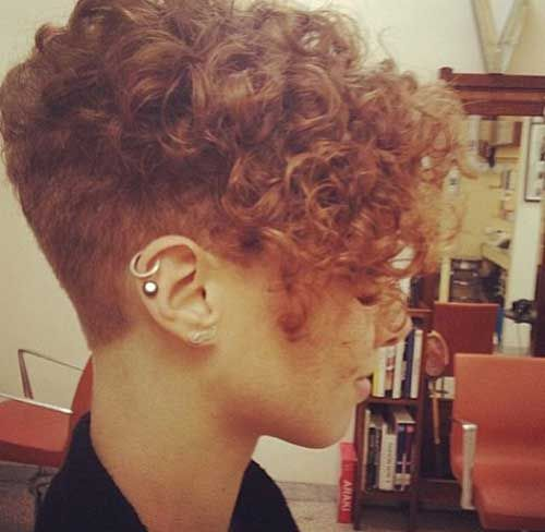 Short Curly Hairstyle For Women Jpg 500 488 Pixels Short Natural Curly Hair Curly Pixie Hairstyles Curly Hair Styles