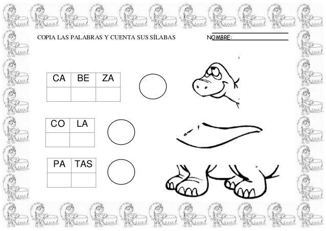 Dibujos De Prehistoria Para Ninos Para Colorear: FICHAS INFANTIL LA PREHISTORIA