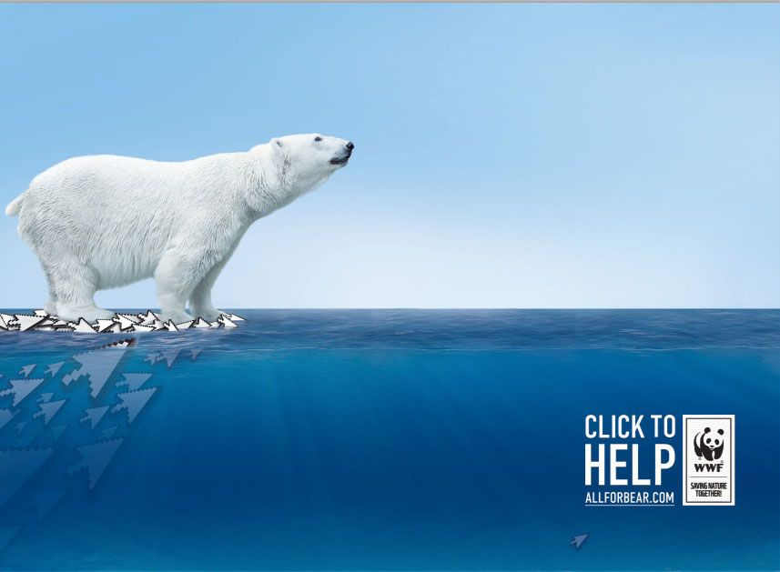 WWF Russia: Click for help Campaign