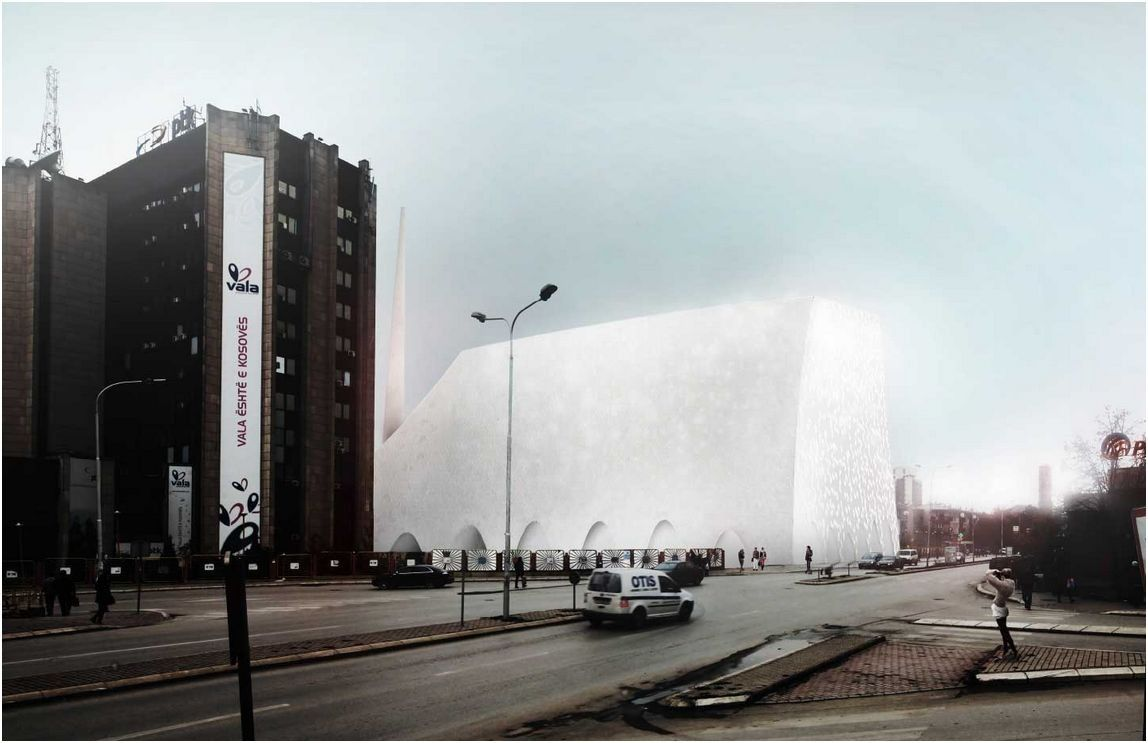 Gallery Of Central Mosque Of Pristina Competition Entry Aptum Architecture 2 Camii