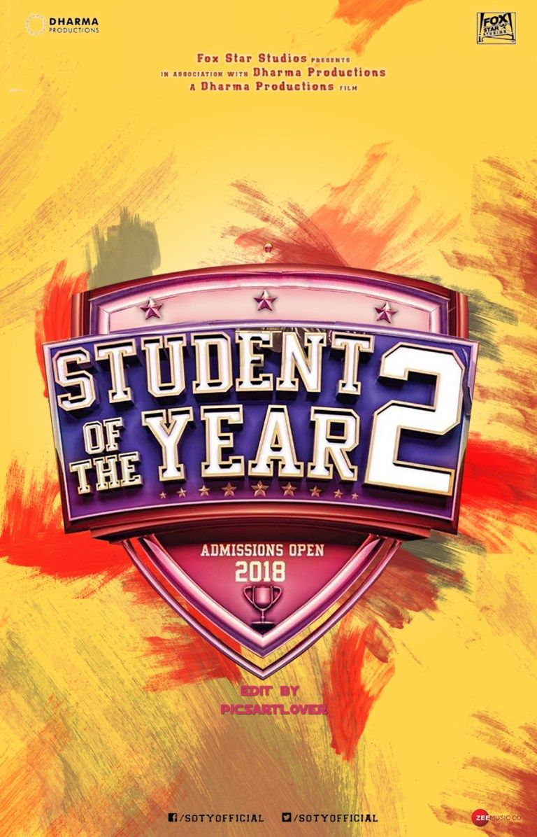 Student Of Year 2 Movie Poster Background Download In 2018