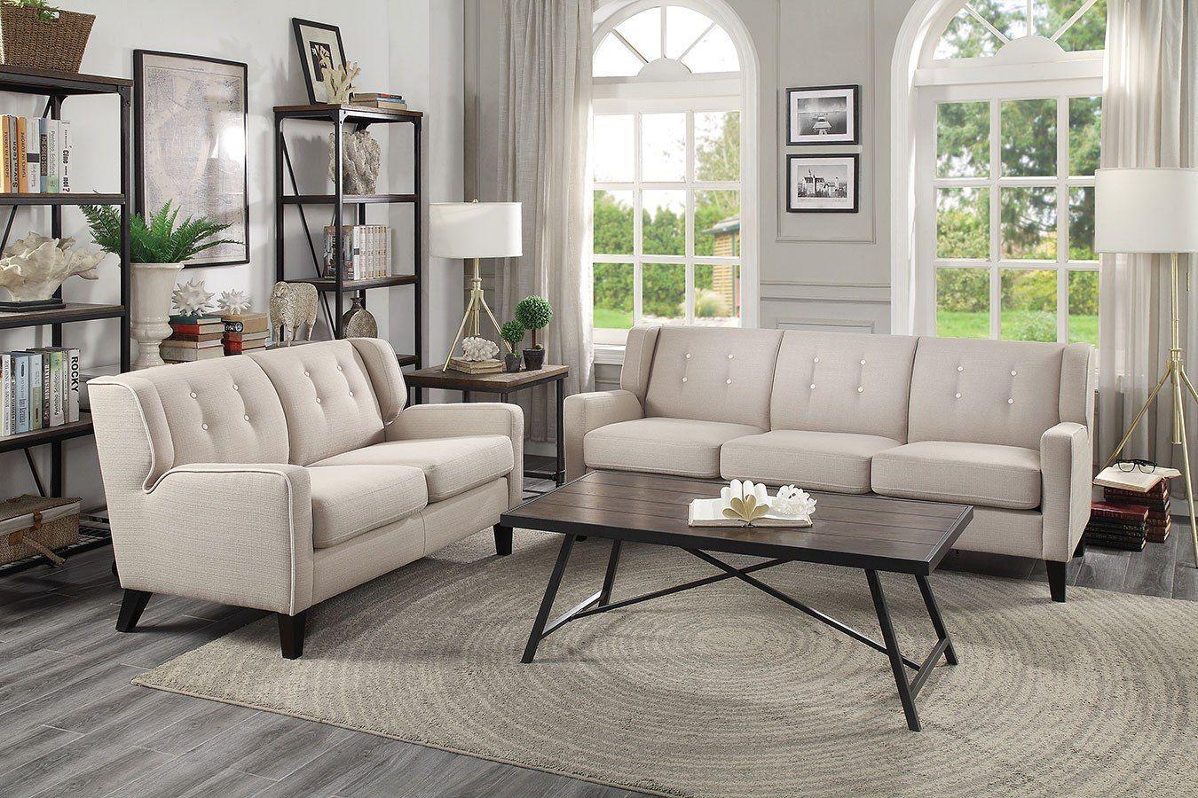 Best Roweena Living Room Set Beige Living Room Sets Beige 640 x 480