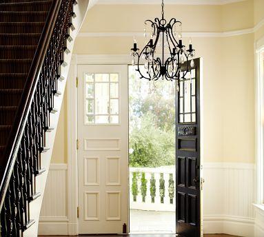 Celeste Crystal Chandelier Home Wood Doors Interior House