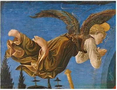 Angel Espionage: Francesco di Stefano Francesco Pesellino completed by Fra Filippo Lippi - 1460