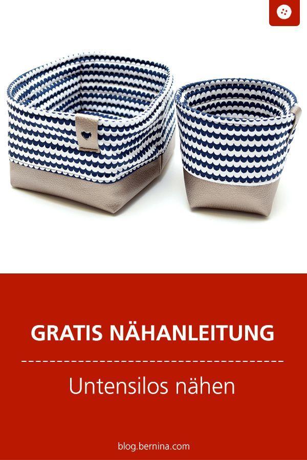 Photo of Freebook – Kostenlose Nähanleitung für ein Utensilo #utensilo #ordnung #aufbe …