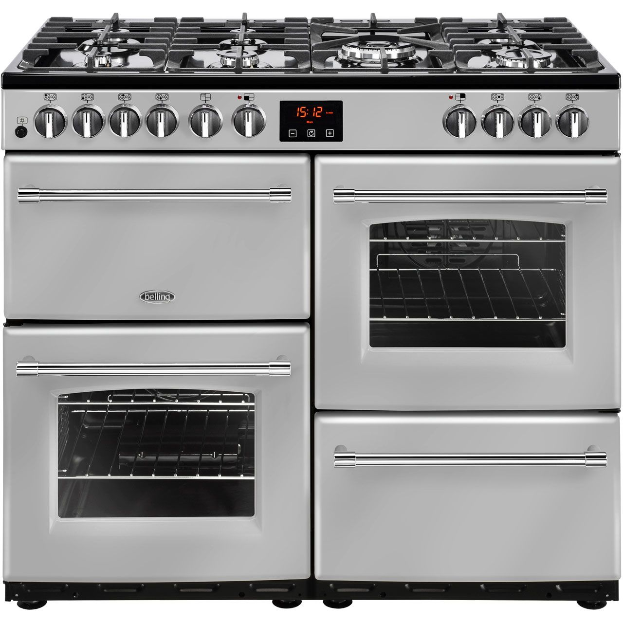 farmhouse100df si   belling range cooker   silver   ao com farmhouse100df si   belling range cooker   silver   ao com   only      rh   pinterest co uk