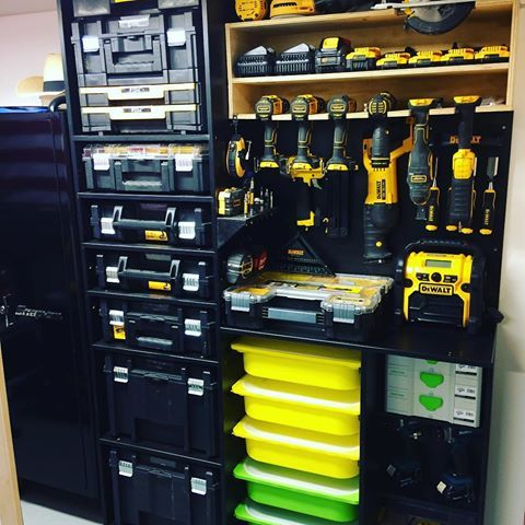 Images about Tstak tag on instagram  organization in 2019  Garage tool storage Garage