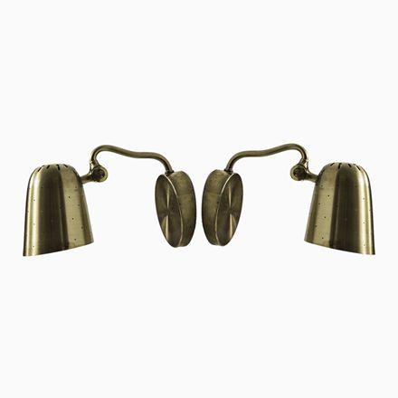 Schwedische Messing Tischlampen, 1950er, 2er Set Jetzt Bestellen Unter: ...