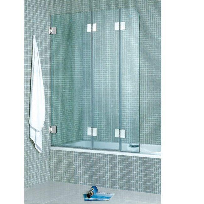 VIGO Folding 3-panel Bath Tub Door | House Remodel | Pinterest ...