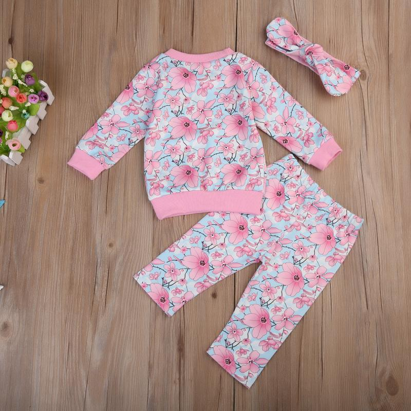 1e19df38fae6e Pink Pastures Clothing Set (3 Piece Set) | Baby Girl Clothing Sets ...