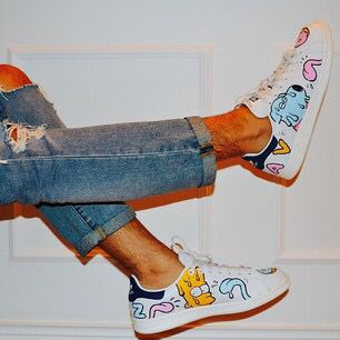Custom Adidas stan smith,unicorn,rainbow,custom sneakers
