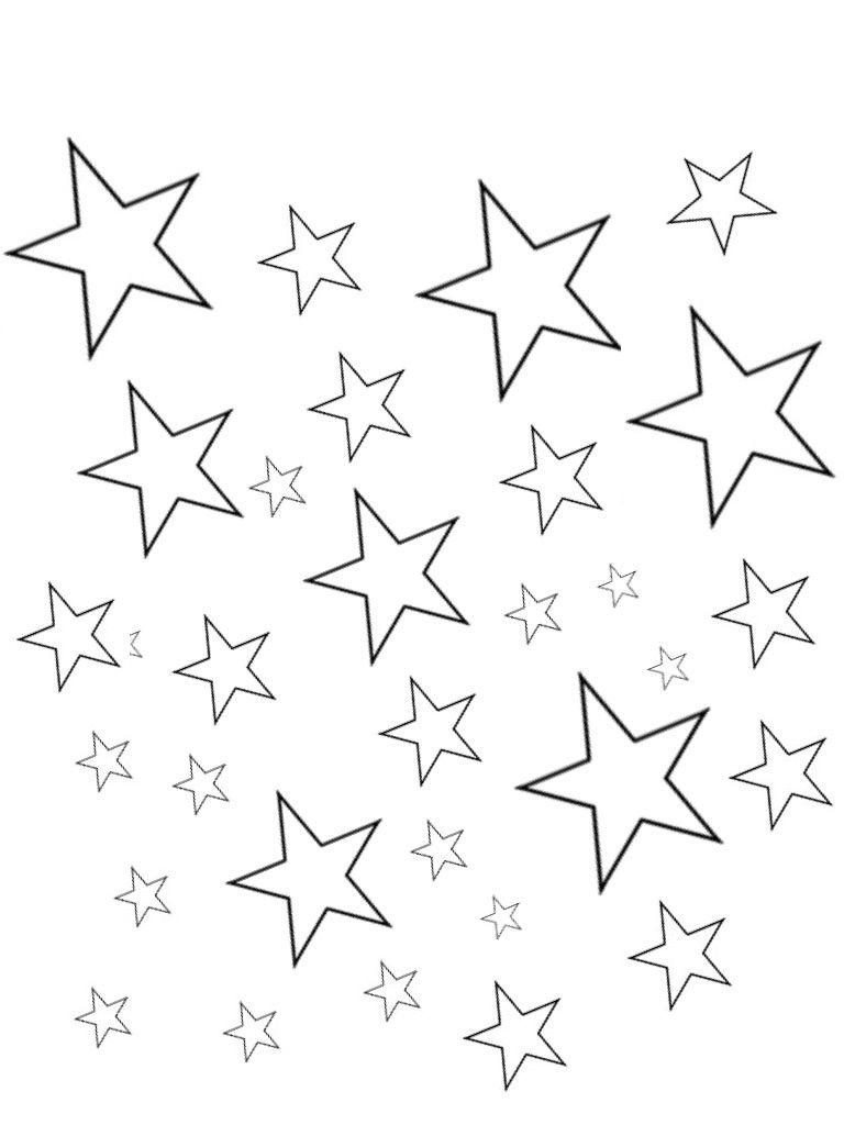 Star Color Sheets