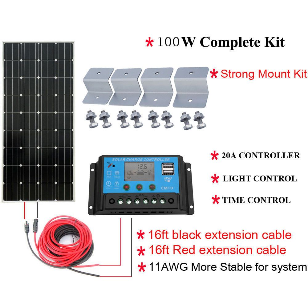 Solar Kit Solar Kit Solar Power Diy Solar