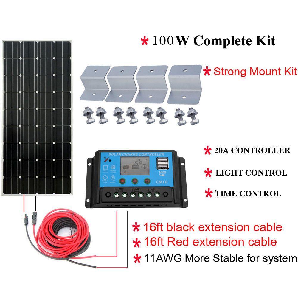 Solar Kit Solar Kit Solar Power Diy Solar