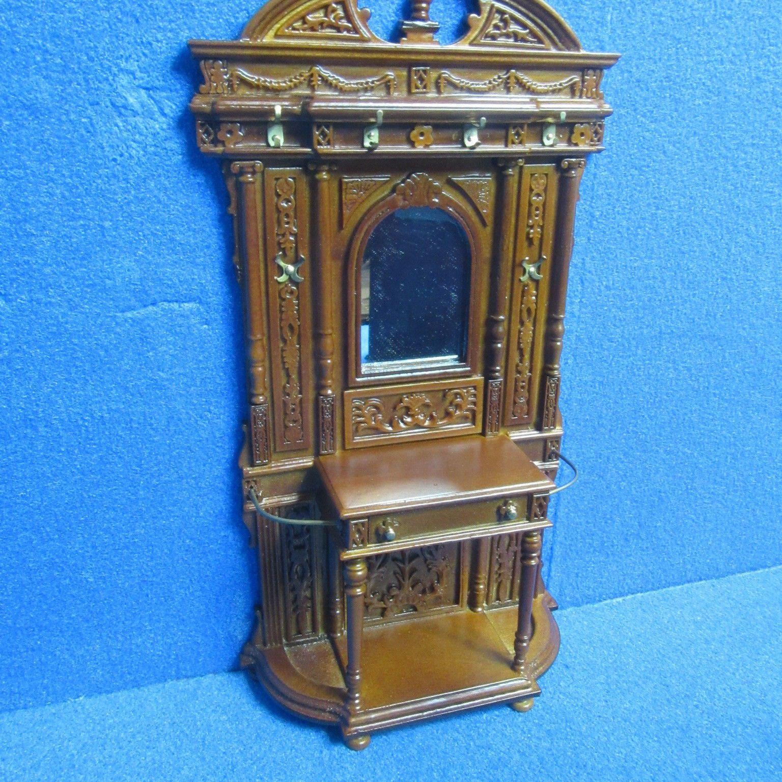Dolls House Furniture Hall Stand JiaYi 8068 01