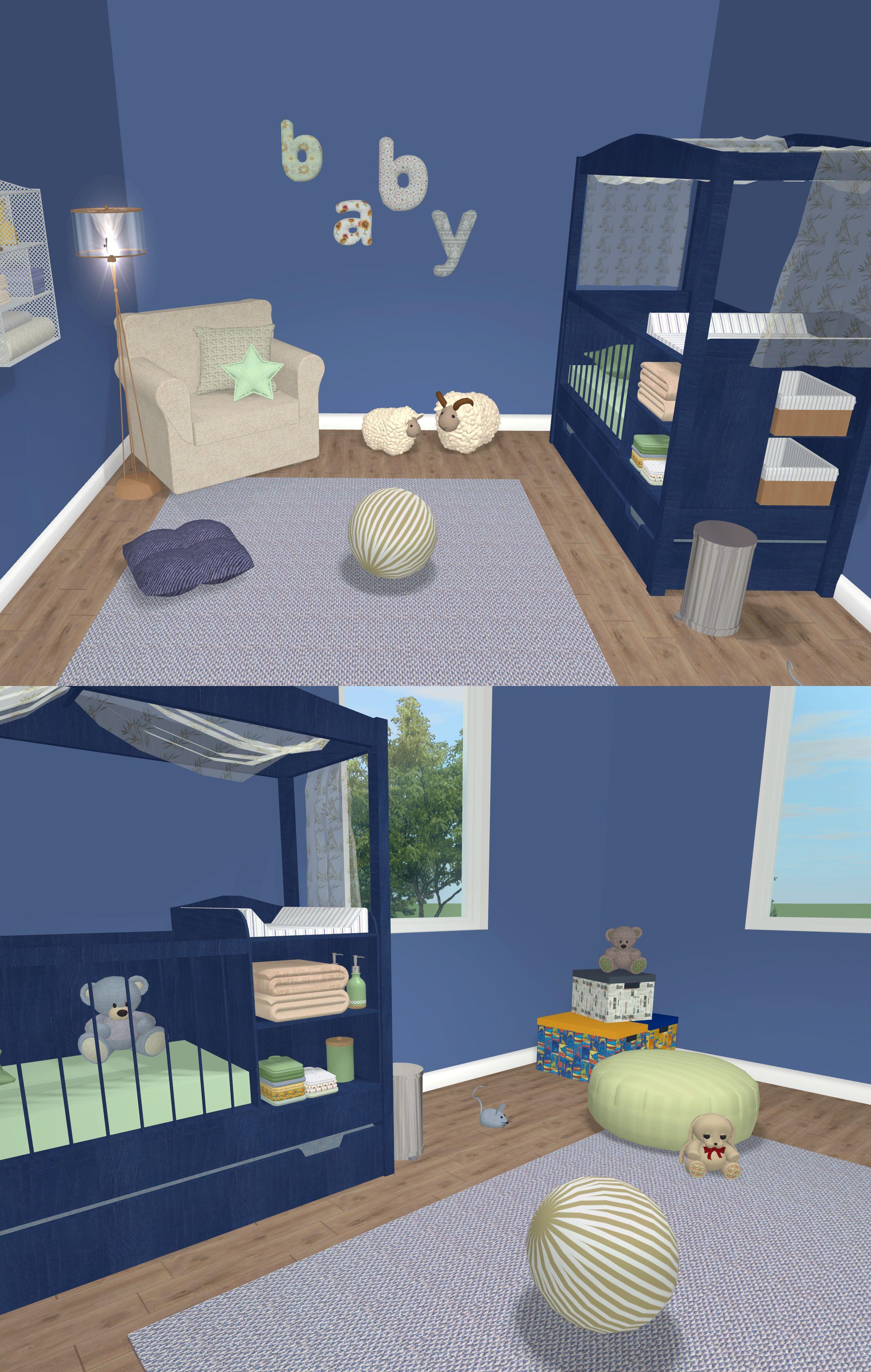 Boy Nursery Interior Design Software House Interior Interior Design