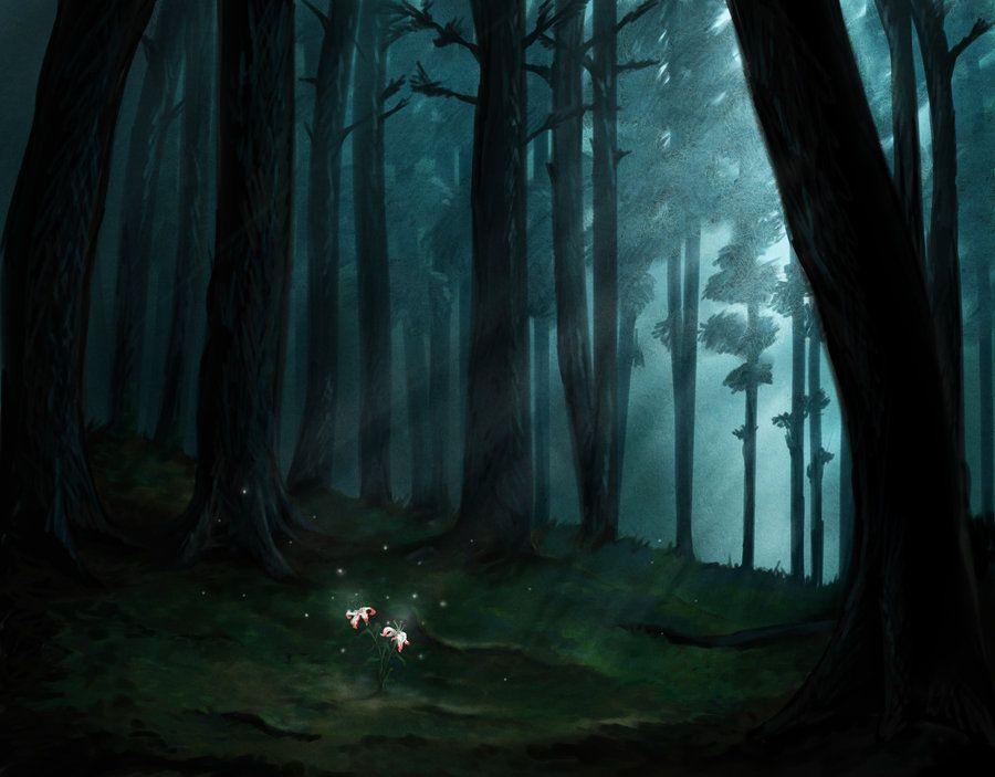 Dark Forest by lorestra on DeviantArt | Dark forest ...