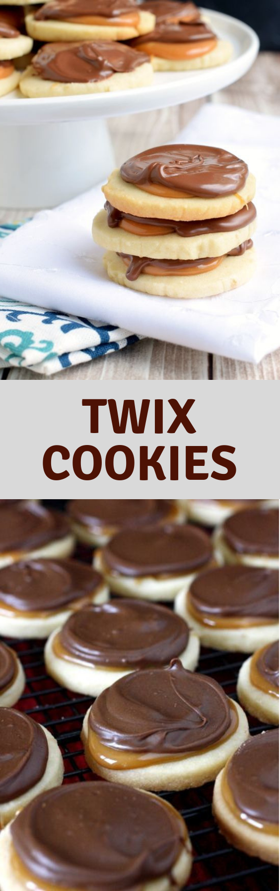 Twix Cookies #twixcookies