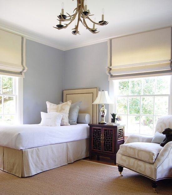 Superieur Classic Chic Home: Simple Elegance ~ Decorating With Roman Shades