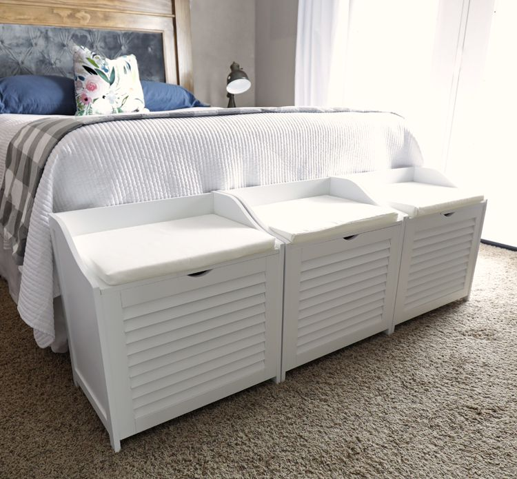 Small Bedroom Laundry Storage Benches The Craft Patch Storage Bench Bedroom Small Bedroom Diy Small Bedroom Storage
